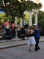 The Shinolas in Blue Back Square. July 24, 2014. Photo by Joy Taylor.