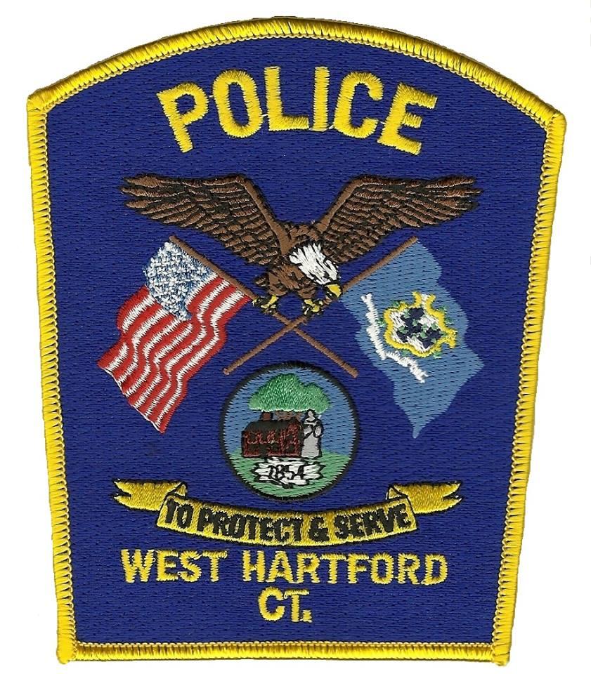 West Hartford Police Department Badge