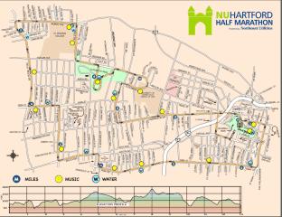 NU Half Marathon Course