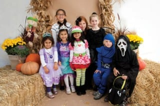 Families enjoyed the 2013 Pumpkin Carnival and Halloween Stroll in The Center. Photo by Kathryn Deane Photography.