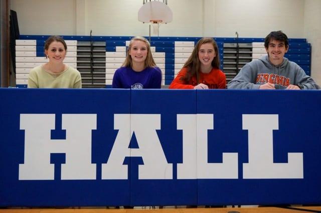 From left: Maria DiBella, McKenzie Molodetz, Kathleen Keegan, and Ari Klau. Photo credit: Ronni Newton