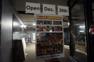Games Workshop will be opening on South Main Street. Photo credit: Ronni Newton
