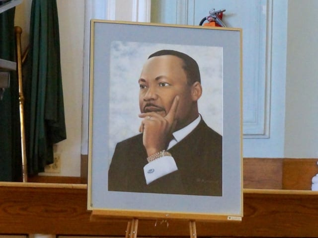 West Hartford's 19th Annual Celebration of Dr. Martin Luther King Jr., Jan. 19, 2015. Photo credit: Ronni Newton