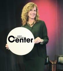 Barbara Karsky, president of the West Hartford Center Business Association (WHCBA). Photo by Todd Fairchild