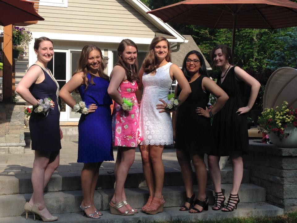 Hall Senior Prom. May 30, 2015. Photo courtesy of Susan Schoenberger