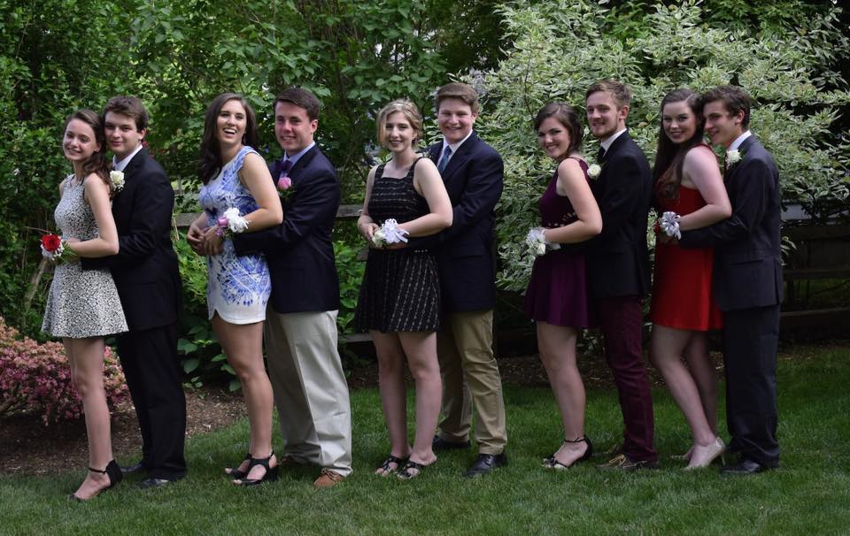 Conard Senior Prom. May 29, 2015. Photo courtesy of Heather Ferguson-Hull