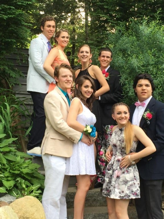 Conard Senior Prom. May 29, 2015. Photo courtesy of Sue Farrell