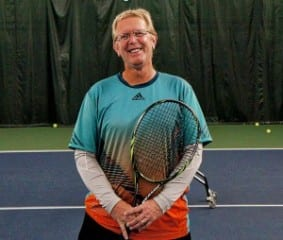 Scott Snow is the new tennis pro at the Mandell JCC Swim & Tennis Club. Submitted photo