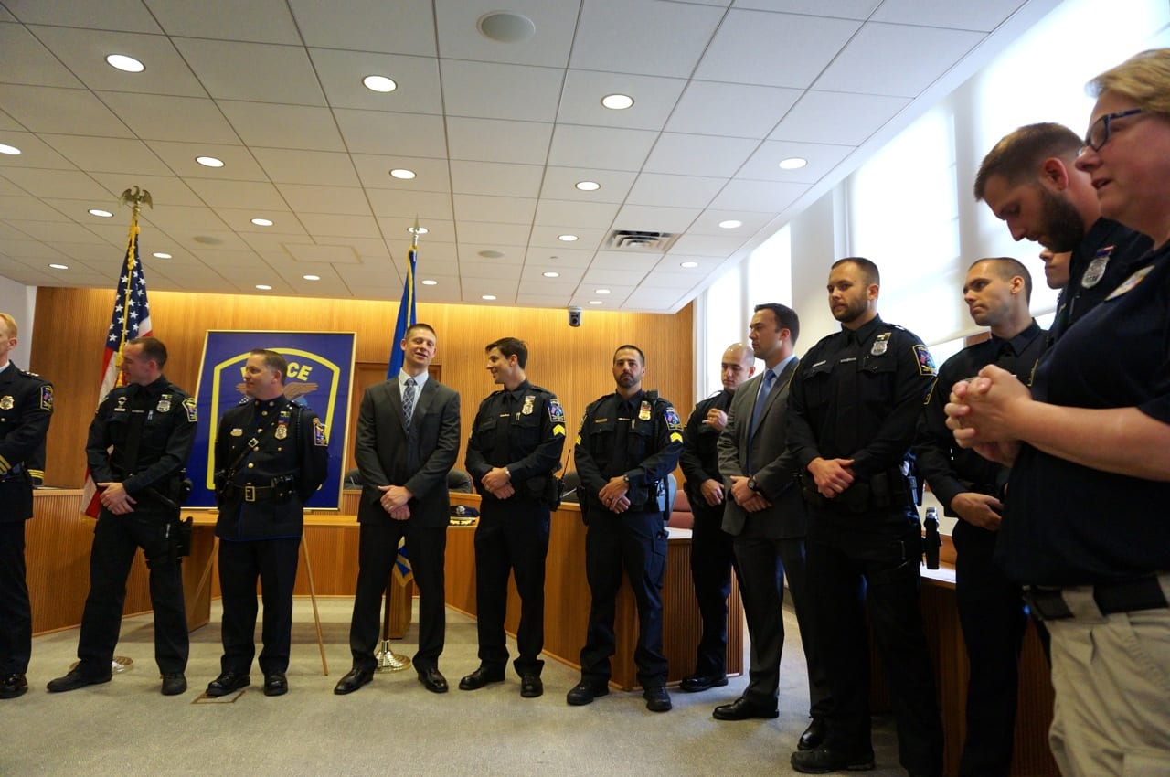 West Hartford Police Honor Citizens and Officers - We-Ha