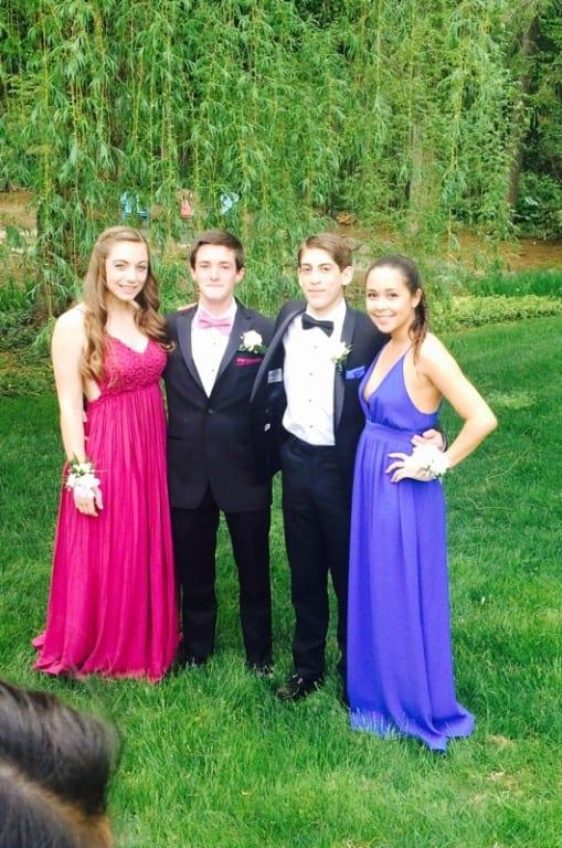 Conard High School Junior Prom. May 15, 2015. Photo courtesy of Tracey Hollerbach