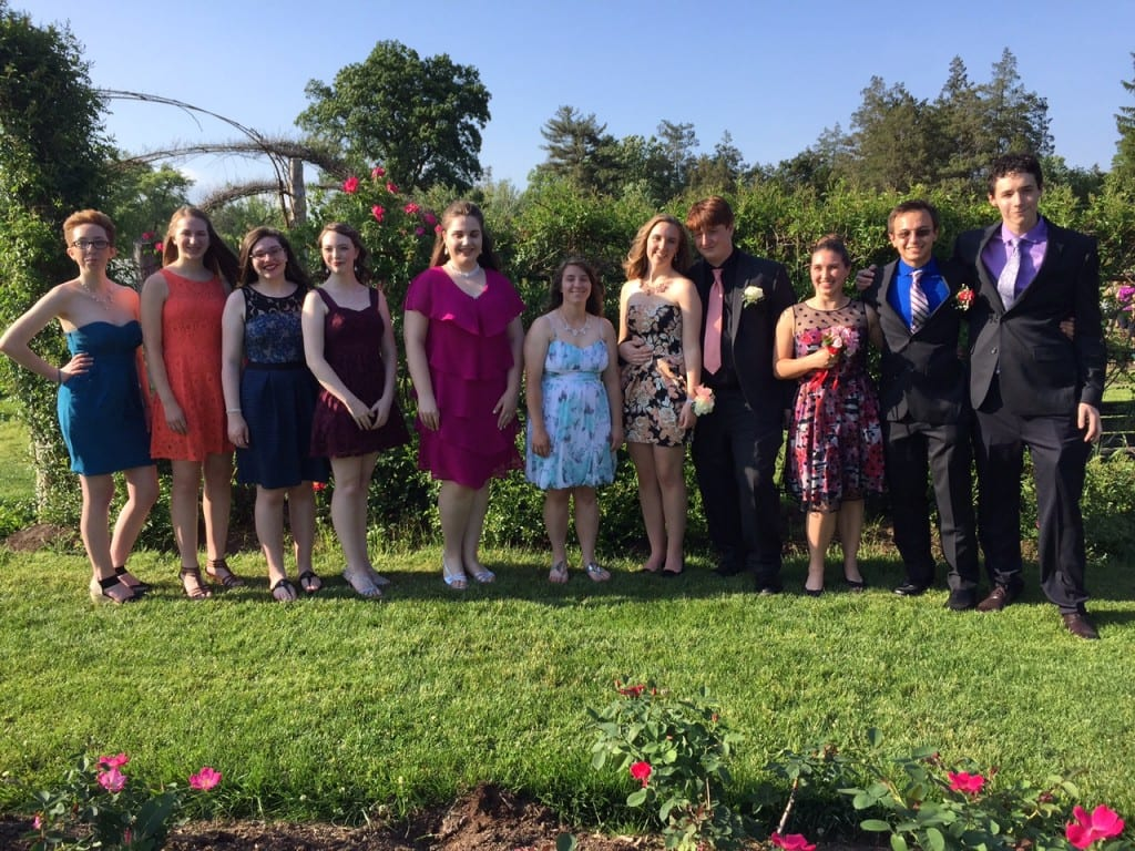 Hall Senior Prom. May 30, 2015. Photo courtesy of Mary-Lynn Michaud