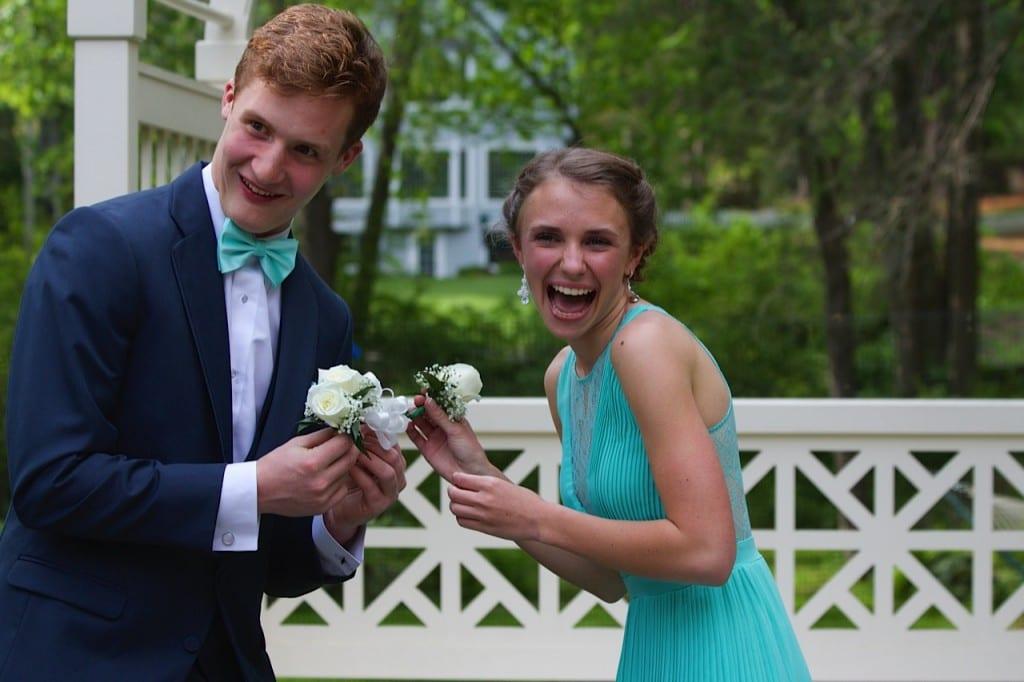 Conard High School Junior Prom. May 15, 2015. Photo courtesy of Linda Miron