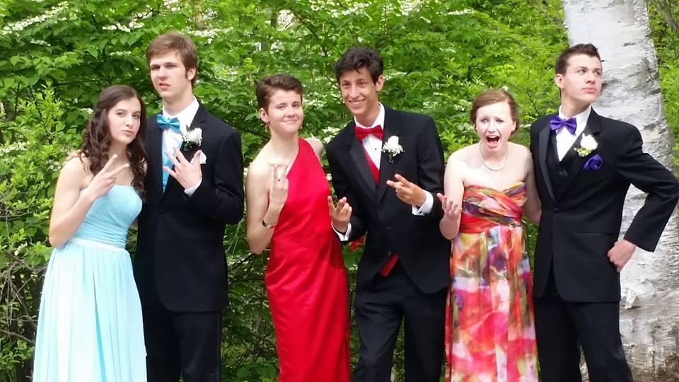Conard High School Junior Prom. May 15, 2015. Photo courtesy of Jaimy Blazynski