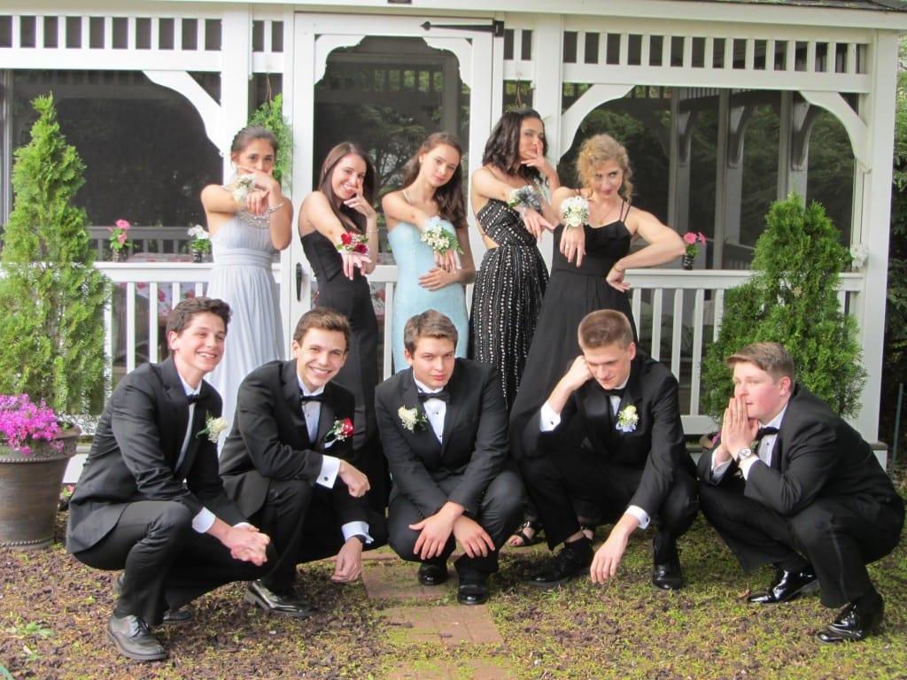 Conard High School Junior Prom. May 15, 2015. Photo courtesy of Nancy Murray