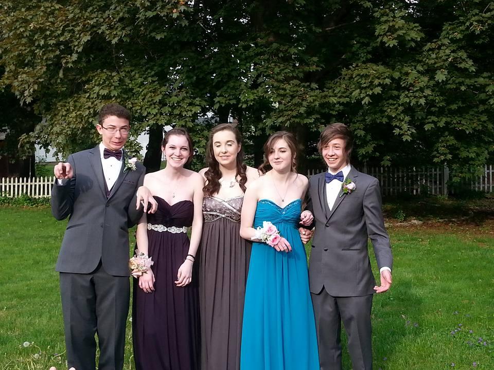 Conard High School Junior Prom. May 15, 2015. Photo courtesy of Kim Davis