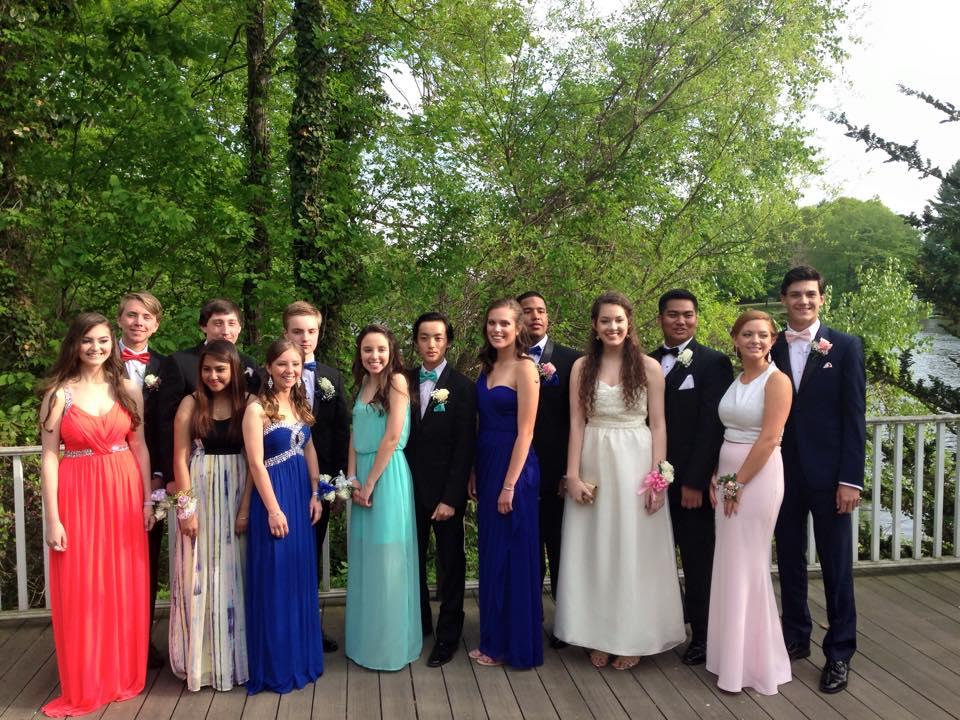 Conard High School Junior Prom. May 15, 2015. Photo courtesy of Kathleen Edlund