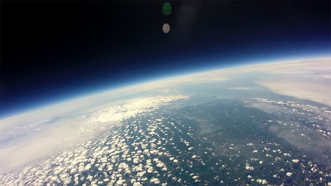 Image from Conard weather balloon.