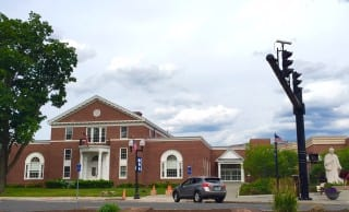 Noah Webster Library, West Hartford. Photo credit: Ronni Newton