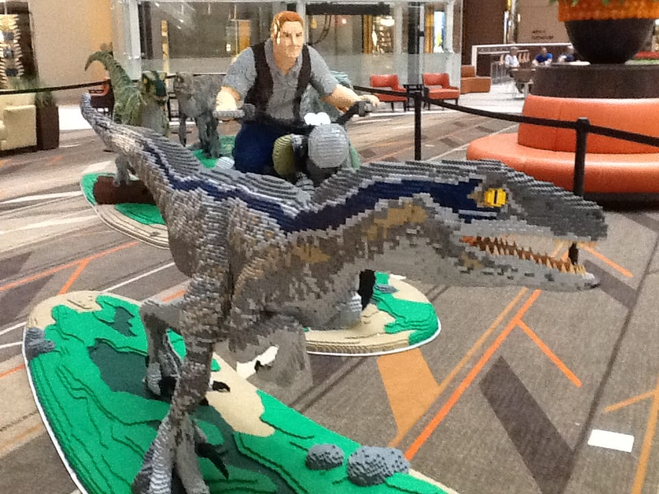 Public invited to see lego jurassic world dinosaurs and - Jurasic park lego ...