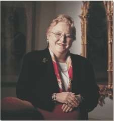 Former University of Saint Joseph President Winifred E. Coleman died on June 19, 2015. Submitted photo