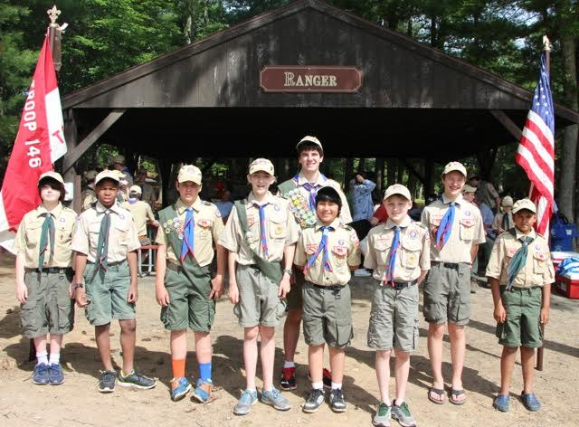 A few of the many Scouts who achieved rank advancments furing the past year. Submitted photo