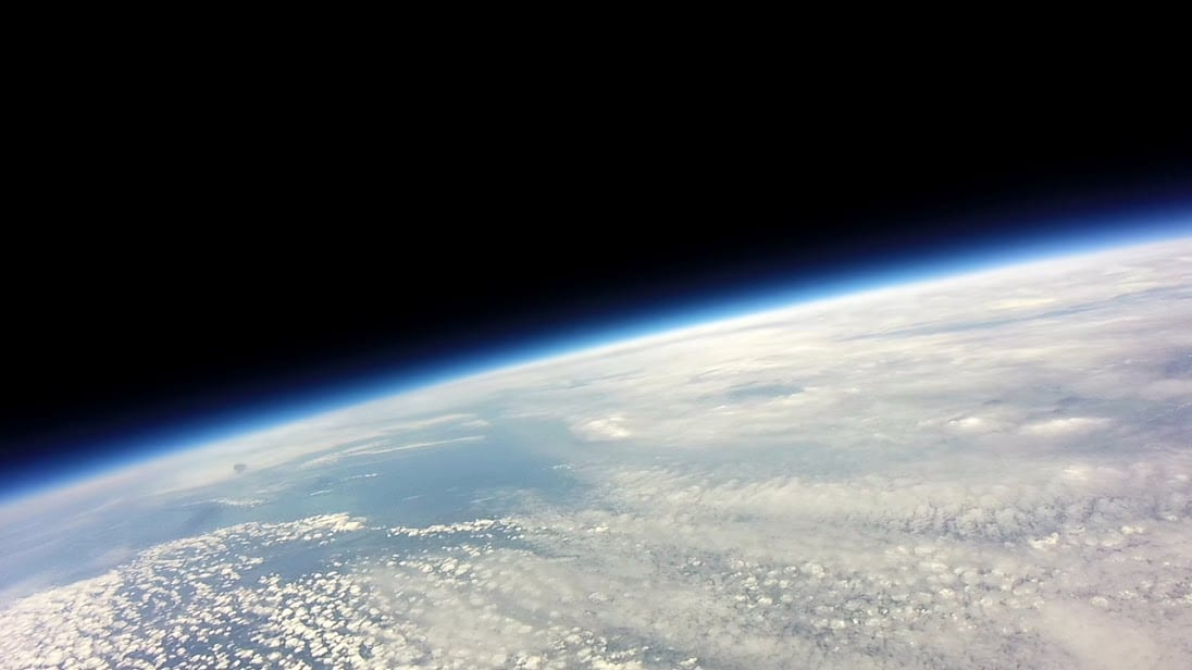 Martha's Vineyard and Cape Cod. Image from Conard weather balloon.