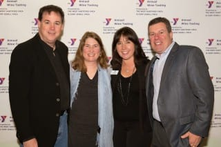 "(L-R): Jim and Laura Young, Dawn and Simon Baker. Dawn and her family have been very involved with the YMCA. She says, ""We had a great time last year and plan to attend again!"" Submitted photo"