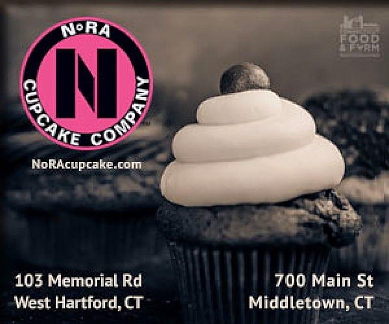 Irish Car Bomb is one of NoRA Cupcake Company's signature treats. Photo courtesy of NoRA Cupcake Company