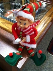 What's this elf all about? Keep reading to find out! Photo by Tom Hickey