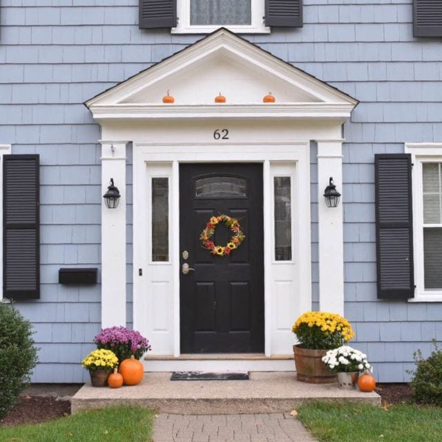 An Easy Formula For Dressing Up Your Front Door We Ha West