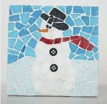 The West Hartford Art League will hold a mosaic workshop. Submitted photo