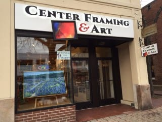 Center Framing & Art has completed a move to 968 Farmington Ave. in West Hartford Center. Photo credit: Ronni Newton
