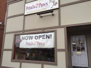 Petals & Paws has moved from Raymond Road to 268 Park Rd. Photo credit: Ronni Newton