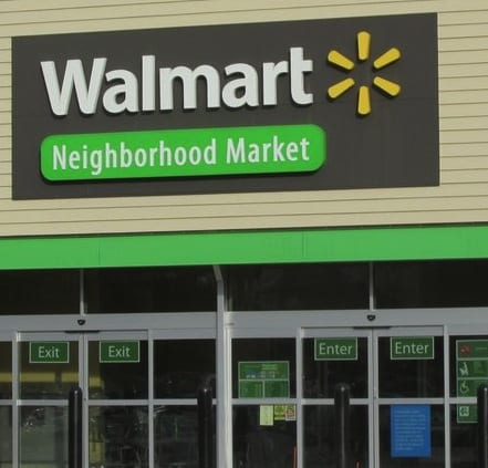 The Walmart Neighborhood Market in Bishops Corner is one of the 269 Walmart stores that will be closing.