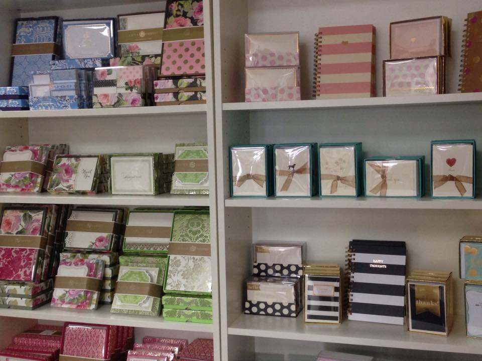 An Ortment Of Notecards And Stationery At The Paper Station Courtesy Photo