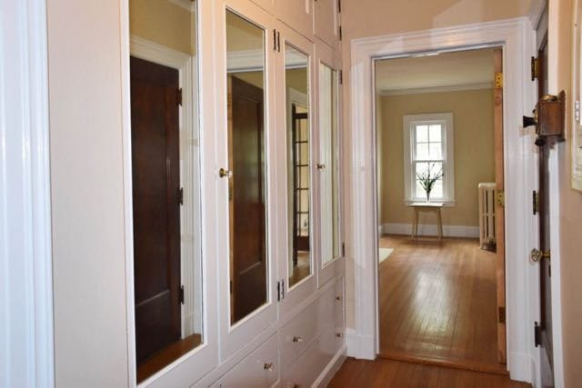 One example of the built in cabinetry in the home. Photo credit: Deb Cohen