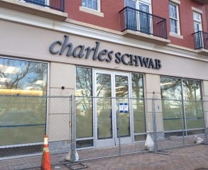 Charles Schwab will move its offices to the new building on South Main Street. Photo credit: Ronni Newton