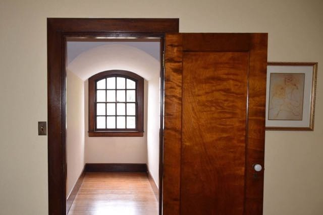 A view to one of the many window alcoves on the third floor. Photo credit: Deb Cohen