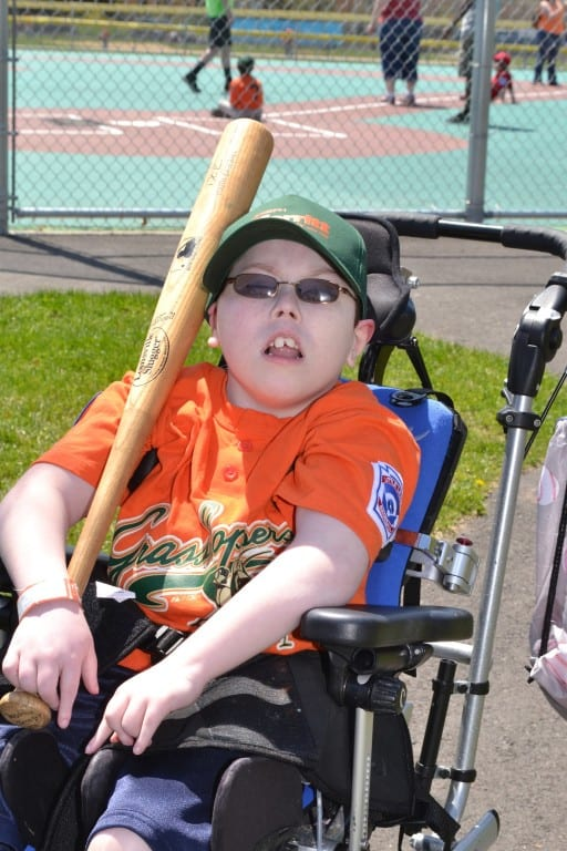 Johnny Moran. Photo courtesy of Miracle League of Connecticut
