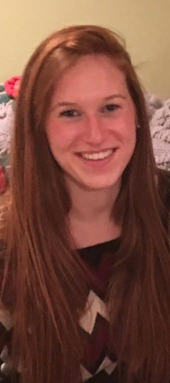 Melissa Molin, 21, of West Hartford. Courtesy photo