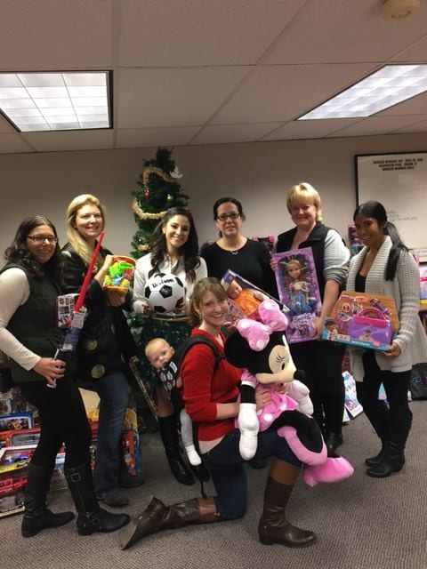 Holiday Toy Packing for children in the Backpack program. Submitted photo