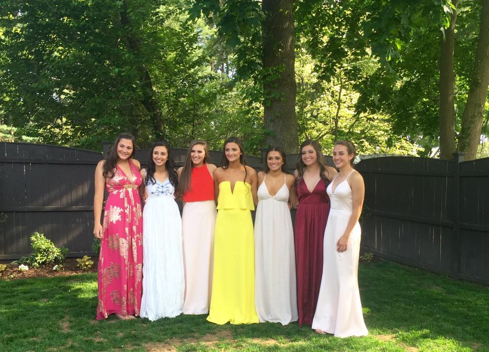 Conard High School Junior Prom. May 20, 2015. Photo courtesy of Betty Feigenbaum