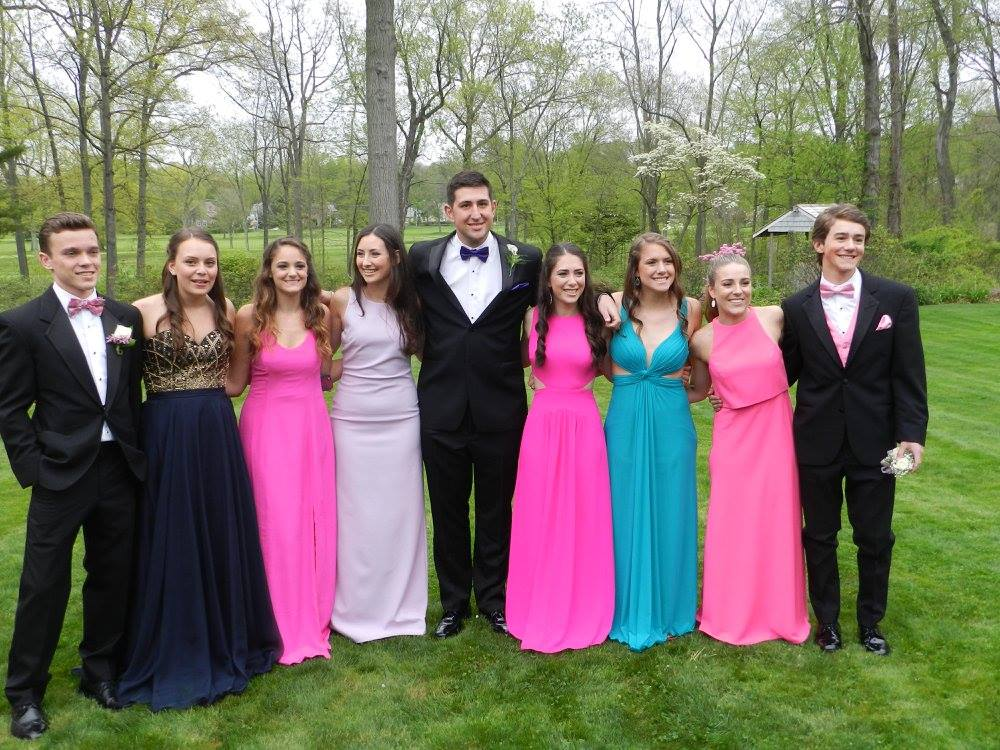 Hall High School Junior Prom. May 7, 2015. Photo courtesy of Lori Verrengia