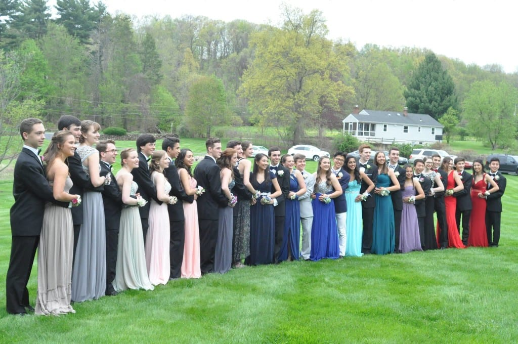 Hall High School Junior Prom. May 7, 2015. Photo courtesy of Eric Rocheleau