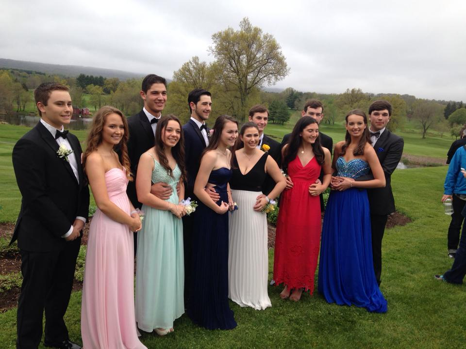 Hall High School Junior Prom. May 7, 2015. Photo courtesy of Becca Brockway
