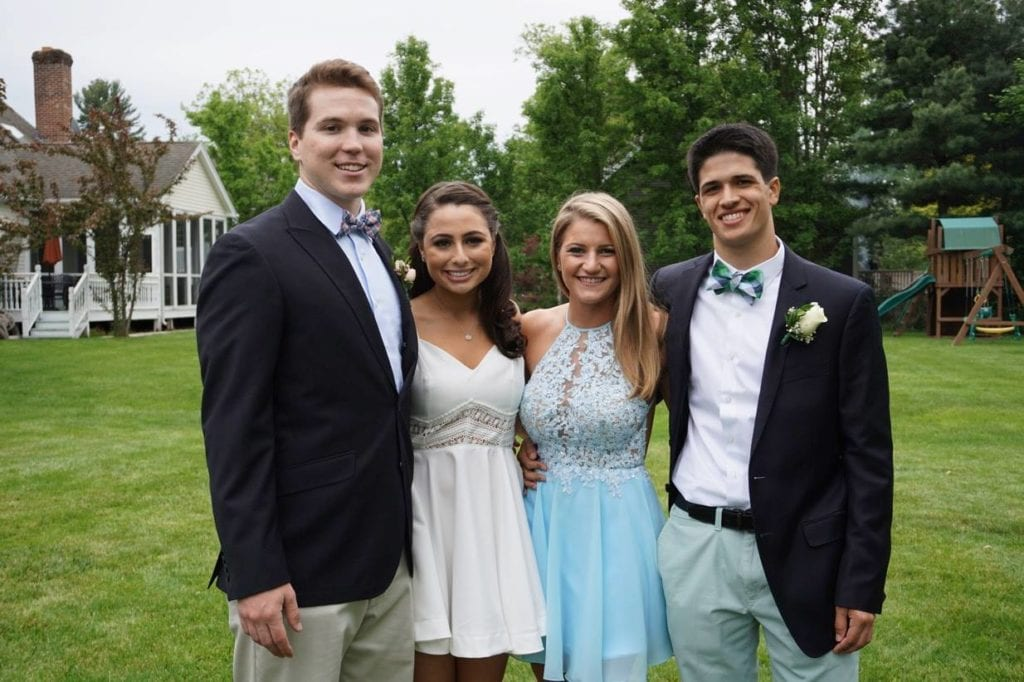 Hall Senior Prom. May 21, 2016. Photo courtesy of Jeanne Pascon