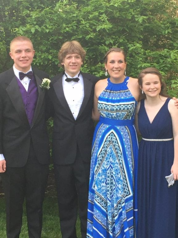 Conard High School Junior Prom. May 20, 2015. Photo courtesy of Janet Pierce