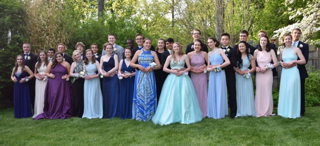 Conard High School Junior Prom. May 20, 2015. Photo courtesy of Deb Cohen