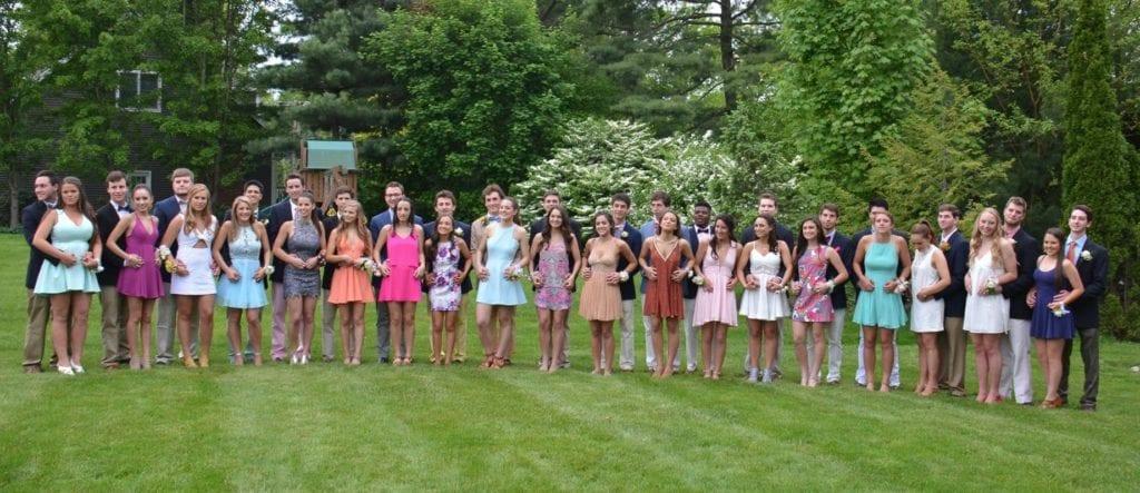 Hall Senior Prom. May 21, 2016. Photo courtesy of Lauren Drazen