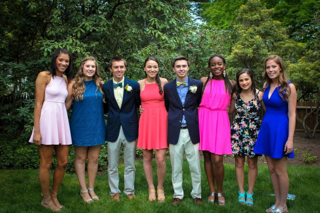 Hall Senior Prom. May 21, 2016. Photo courtesy of Sally Lynch